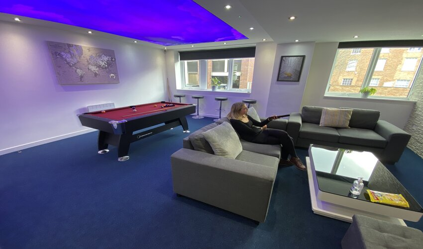 Student Accommodation Leicester: Common Room